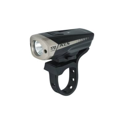 Első tölthető világítás KLS SPITFIRE, fekete