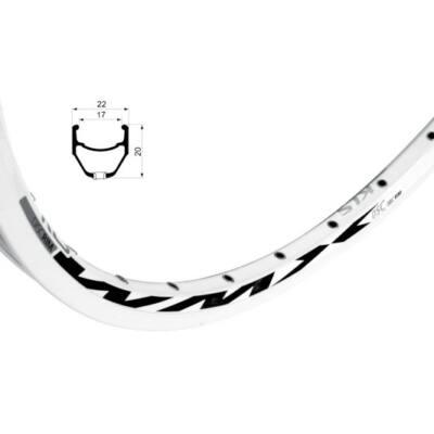 Felni KLS WMX DSC, 559x16,5, 1 nit, white