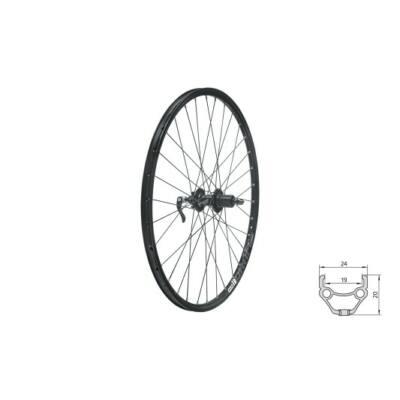"""Fűzött hátsó kerék KLS DRAFT DSC R, 27,5"""", black"""