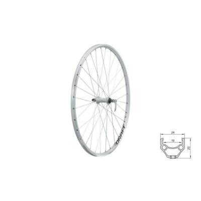 """Fűzött első kerék KLS DRAFT F, 28/29"""", silver"""