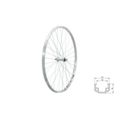 "Fűzött első kerék KLS EVENT F, 28"", silver"