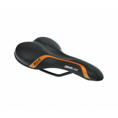 Nyereg KLS DRIVELINE 015, orange