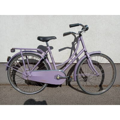 Classic egysebis Kontrás 24-es lila bringa Menetkészen