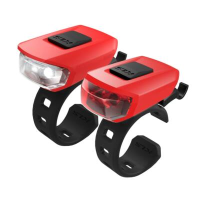 Lámpa szett KLS VEGA USB, red