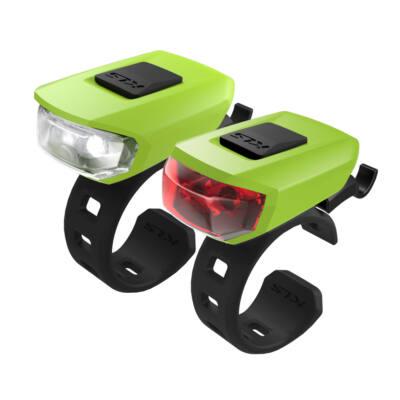 Lámpa szett KLS VEGA USB, lime green