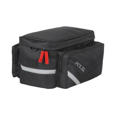 Csomagtartó táska KLS SPACE 12 fekete