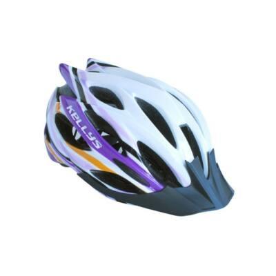 Fejvédő Dynamic white-alpine purple