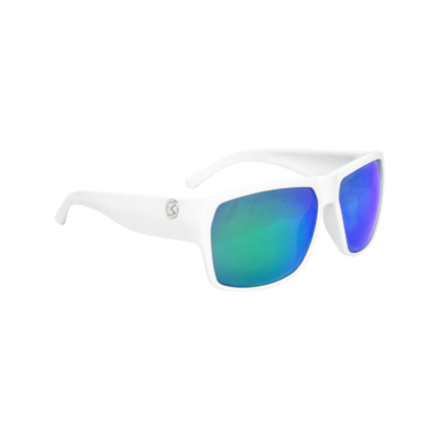 Szemüveg RESPECT- Shiny White POLARIZED